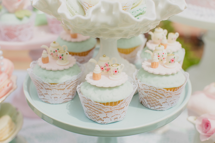 Vintage Tea Party on Kara's Party Ideas | KarasPartyIdeas.com (26)