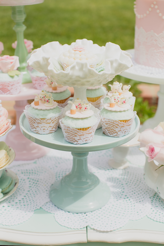Vintage Tea Party on Kara's Party Ideas | KarasPartyIdeas.com (25)