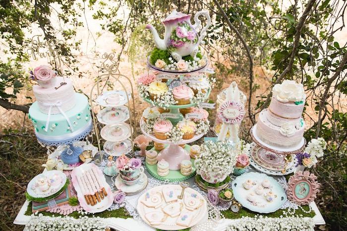 Vintage Tea Party on Kara's Party Ideas | KarasPartyIdeas.com (41)