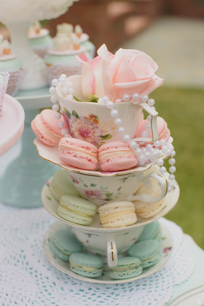 Vintage Tea Party on Kara's Party Ideas | KarasPartyIdeas.com (21)