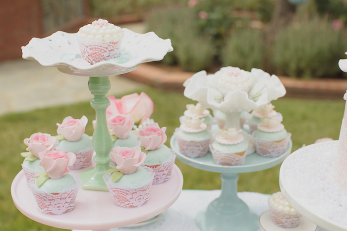 Vintage Tea Party on Kara's Party Ideas | KarasPartyIdeas.com (19)