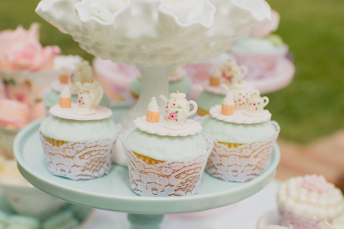 Vintage Tea Party on Kara's Party Ideas | KarasPartyIdeas.com (18)