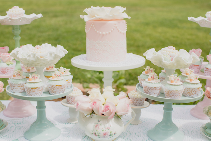 Vintage Tea Party on Kara's Party Ideas | KarasPartyIdeas.com (17)