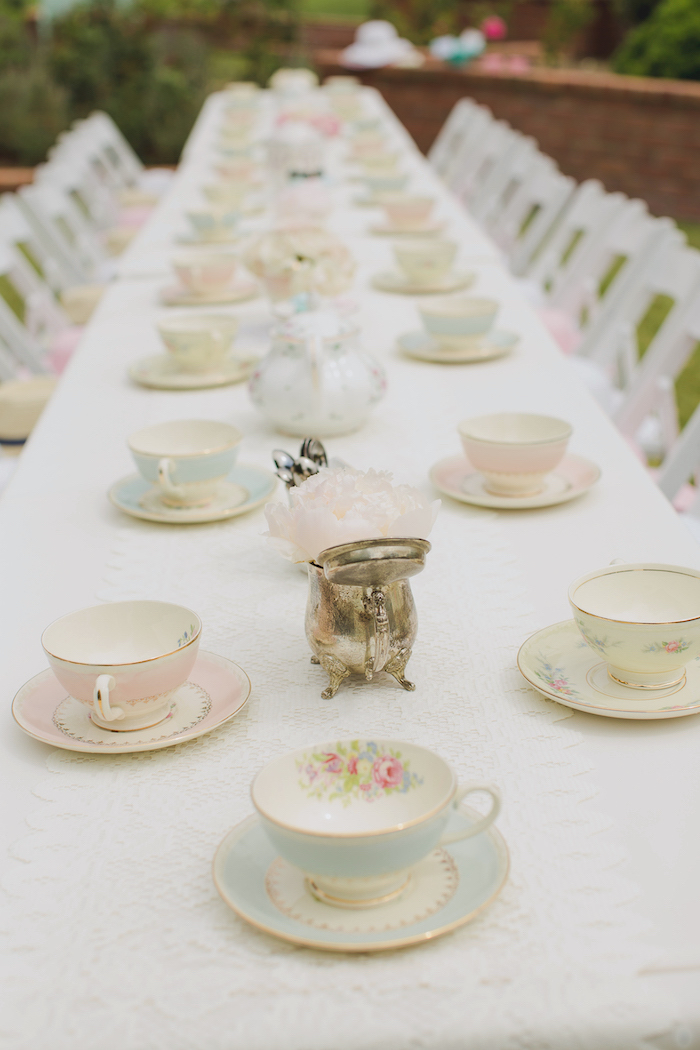 Vintage Tea Party on Kara's Party Ideas | KarasPartyIdeas.com (34)