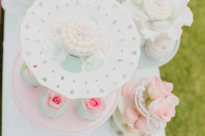 Vintage Tea Party on Kara's Party Ideas | KarasPartyIdeas.com (5)