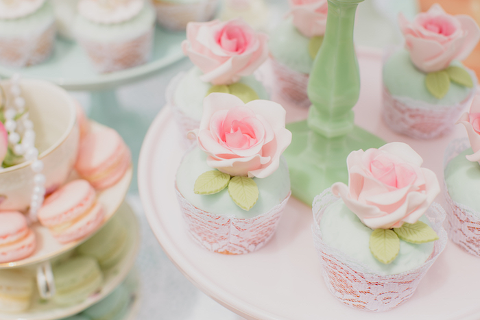Vintage Tea Party on Kara's Party Ideas | KarasPartyIdeas.com (4)