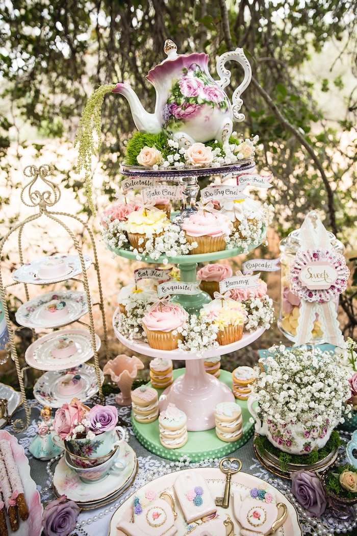 Food Ideas For Ladies Tea Party
