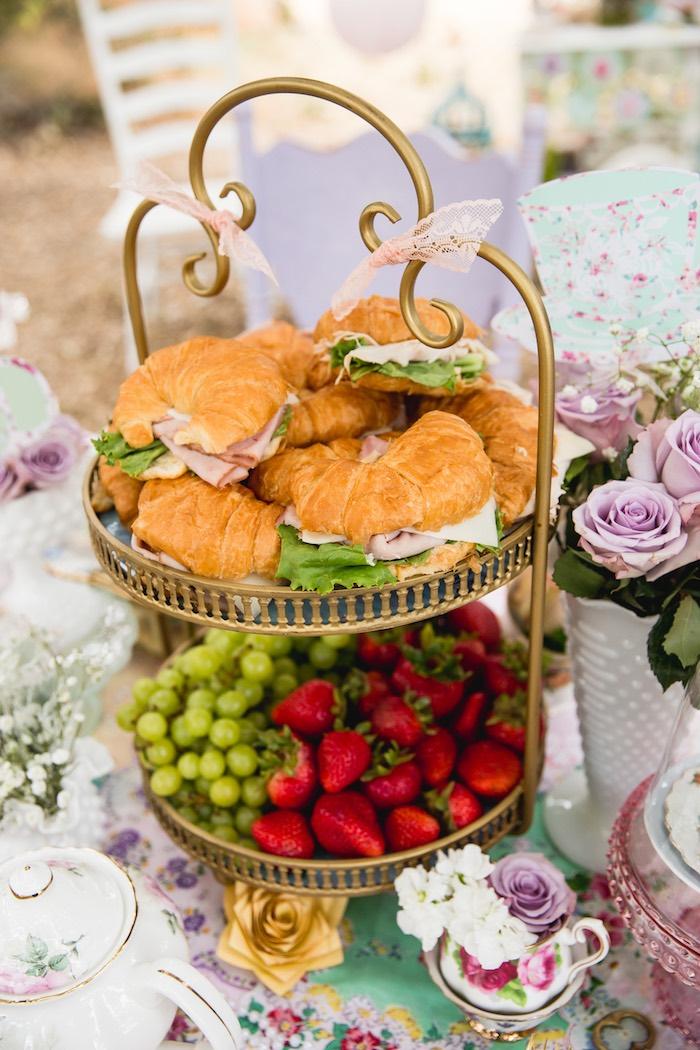 Vintage Tea Party on Kara's Party Ideas | KarasPartyIdeas.com (8)