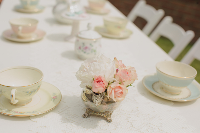 Vintage Tea Party on Kara's Party Ideas | KarasPartyIdeas.com (31)