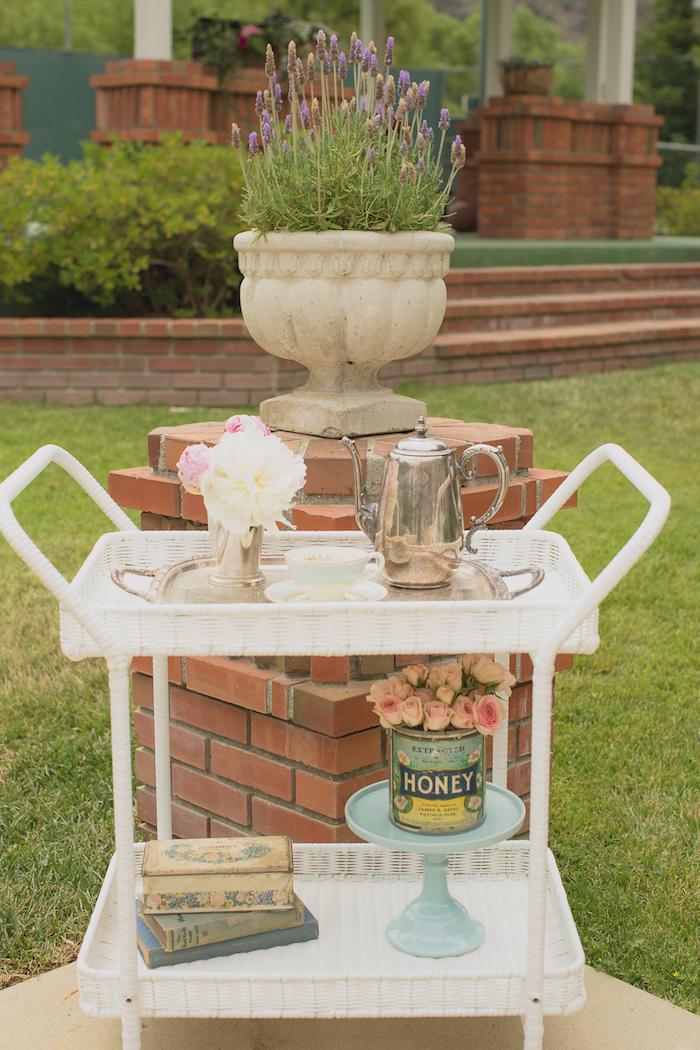 Vintage Tea Party on Kara's Party Ideas | KarasPartyIdeas.com (29)
