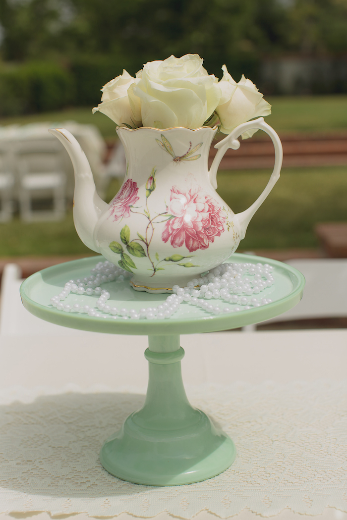 Vintage Tea Party on Kara's Party Ideas | KarasPartyIdeas.com (27)