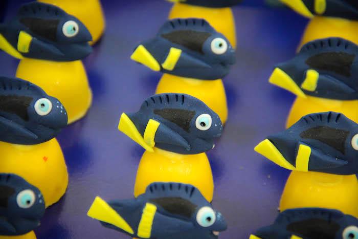 Fish Bon Bons from a Yellow Submarine Ocean Birthday Party on Kara's Party Ideas | KarasPartyIdeas.com (20)