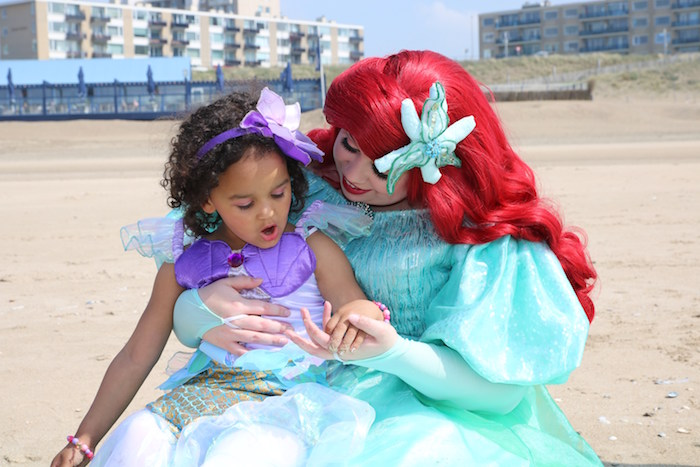 Seaside Mermaid Birthday Party on Kara's Party Ideas | KarasPartyIdeas.com (4)