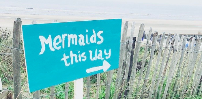 Seaside Mermaid Birthday Party on Kara's Party Ideas | KarasPartyIdeas.com (1)