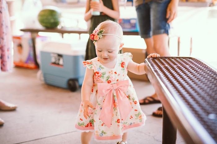 1st Birthday Garden Party on Kara's Party Ideas | KarasPartyIdeas.com (8)