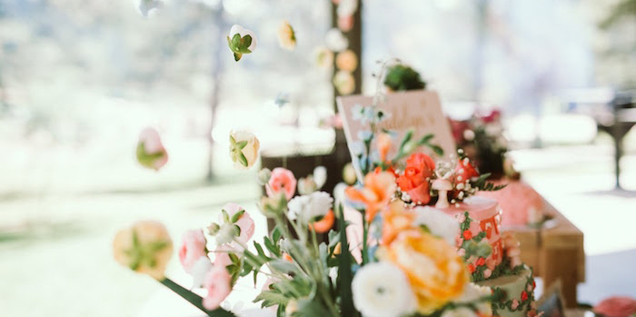 1st Birthday Garden Party on Kara's Party Ideas | KarasPartyIdeas.com (1)