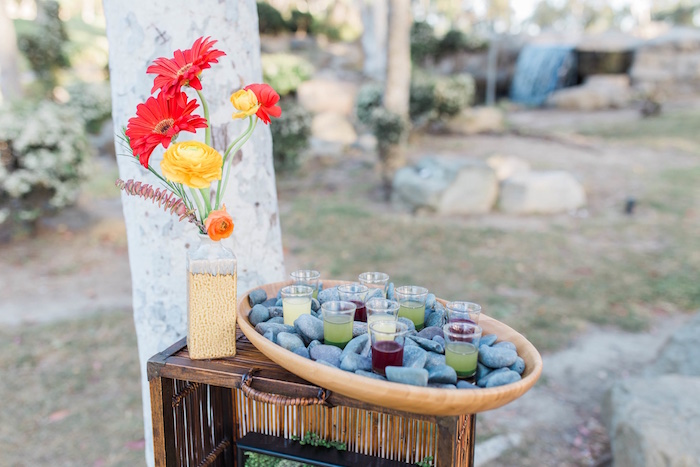 """Au Naturel"" Outdoor Bridal Shower on Kara's Party Ideas 