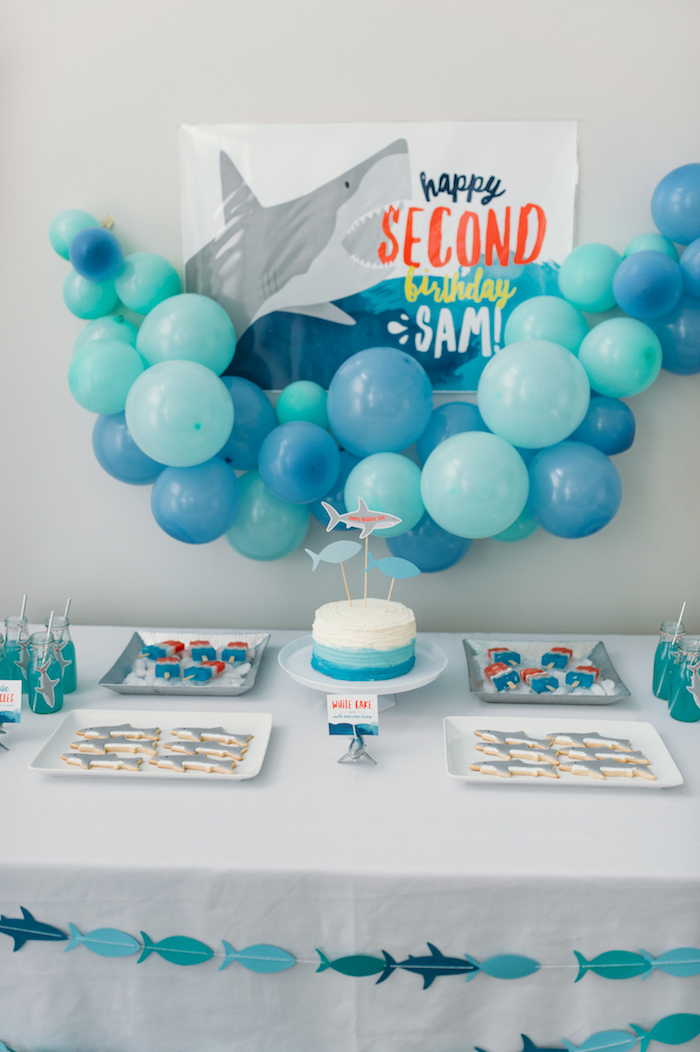Shark Birthday Cake Pictures