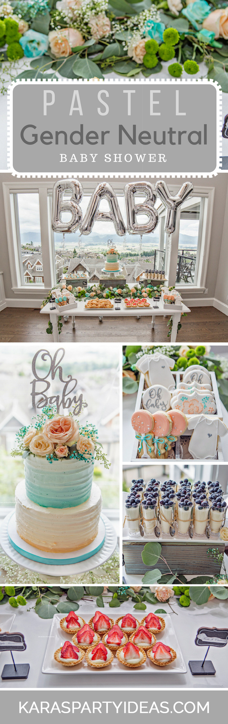 Kara S Party Ideas Pastel Gender Neutral Baby Shower