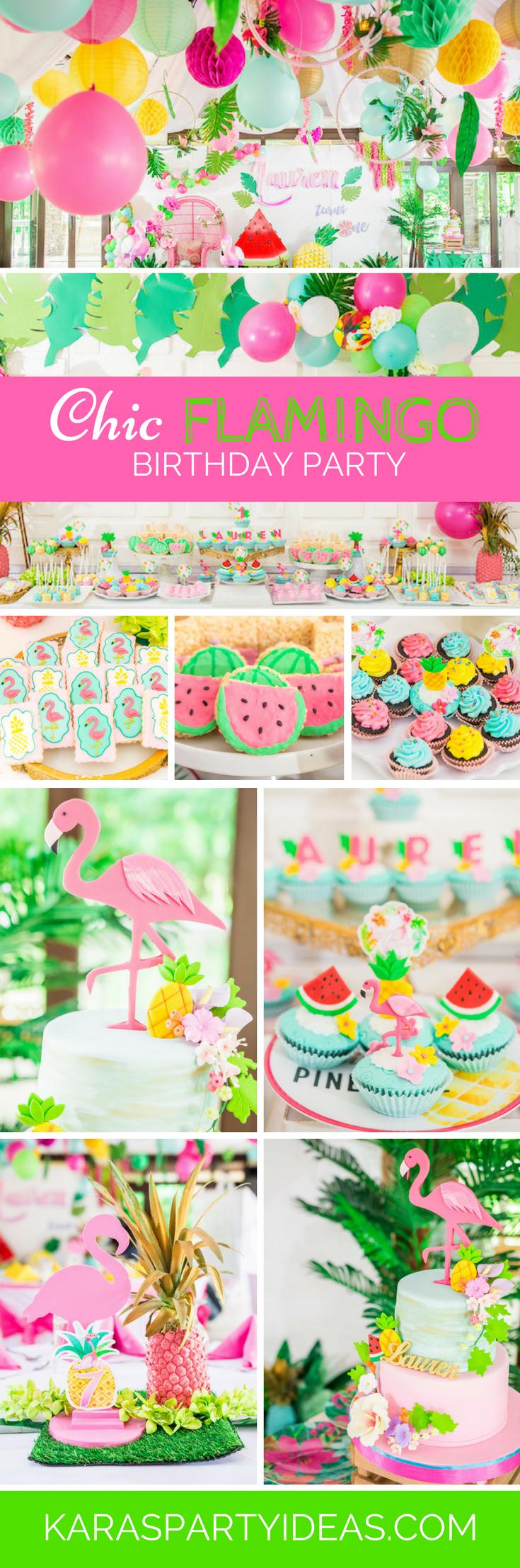 Tea time tea birthday party via kara s party ideas karaspartyideas com - Chic Flamingo Birthday Party Via Kara S Party Ideas Karaspartyideas Com