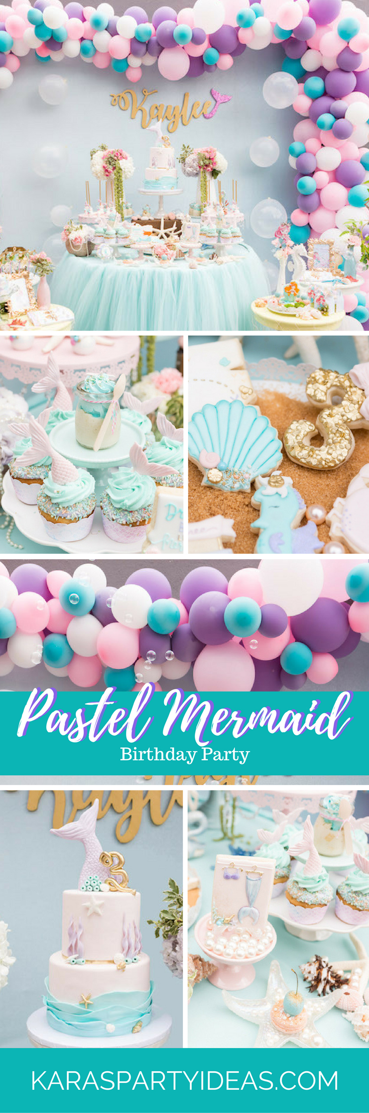 Tea time tea birthday party via kara s party ideas karaspartyideas com - Pastel Mermaid Birthday Party Via Kara S Party Ideas Karaspartyideas Com
