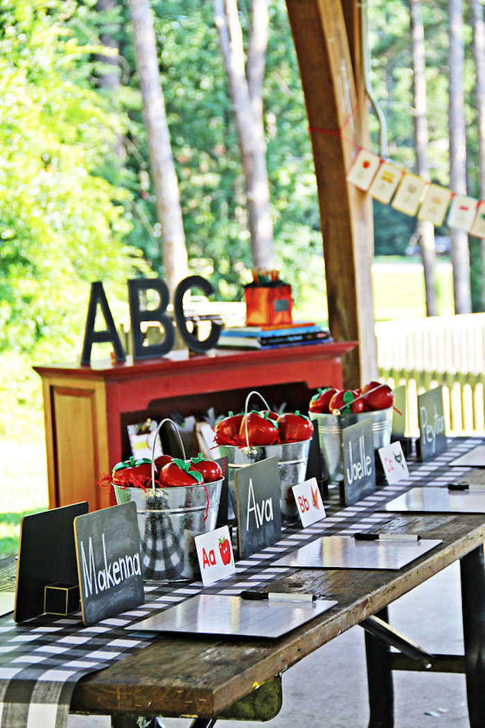 B is for Back to School Party on Kara's Party Ideas | KarasPartyIdeas.com (17)