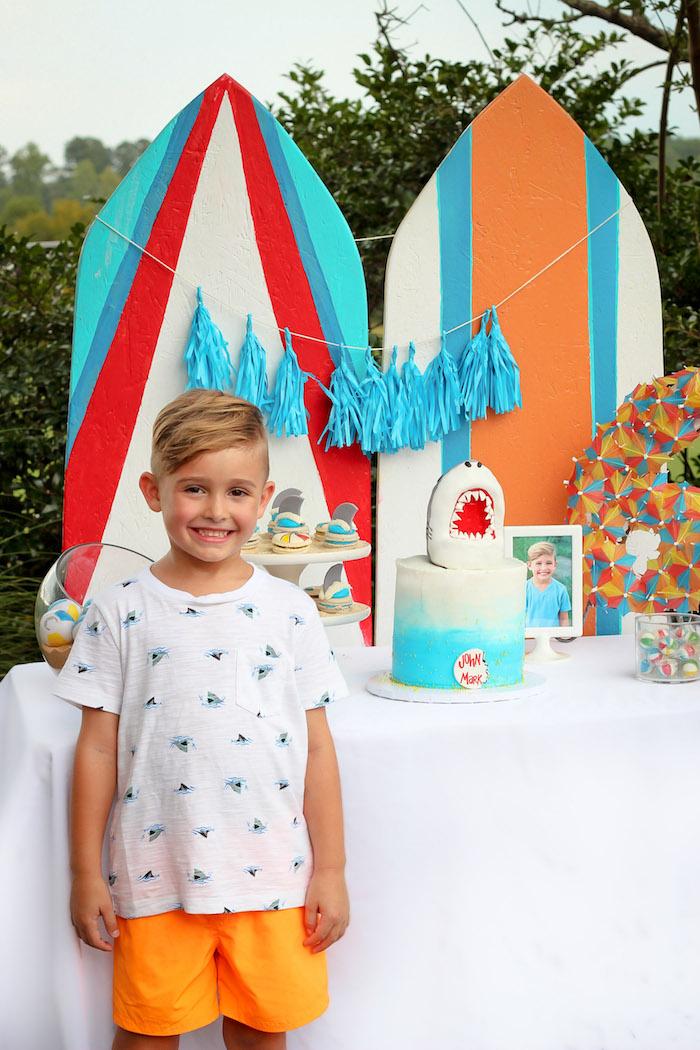 Beached Shark Birthday Party on Kara's Party Ideas | KarasPartyIdeas.com (12)