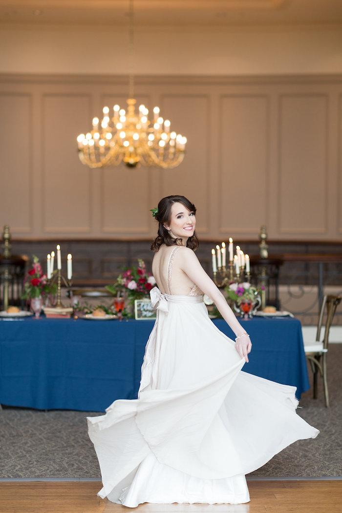 Beauty and the Beast Inspired Wedding on Kara's Party Ideas | KarasPartyIdeas.com (33)