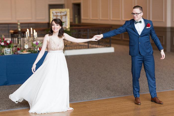 Beauty and the Beast Inspired Wedding on Kara's Party Ideas | KarasPartyIdeas.com (32)