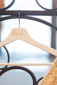 Bride hanger from a Beauty and the Beast Inspired Wedding on Kara's Party Ideas | KarasPartyIdeas.com (48)