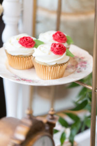 Enchanted Rose Cupcakes from a Beauty and the Beast Inspired Wedding on Kara's Party Ideas | KarasPartyIdeas.com (11)