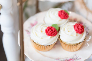 Enchanted Rose Cupcakes from a Beauty and the Beast Inspired Wedding on Kara's Party Ideas | KarasPartyIdeas.com (9)