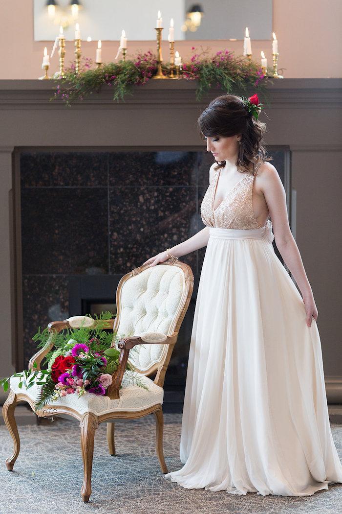 Beauty and the Beast Inspired Wedding on Kara's Party Ideas | KarasPartyIdeas.com (6)