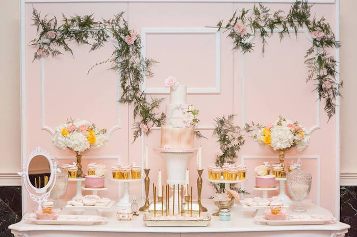 Blush Garden Baby Shower on Kara's Party Ideas | KarasPartyIdeas.com (20)