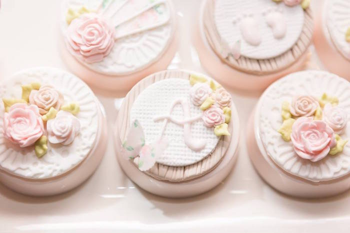Chocolate Covered Oreos from a Blush Garden Baby Shower on Kara's Party Ideas | KarasPartyIdeas.com (2)