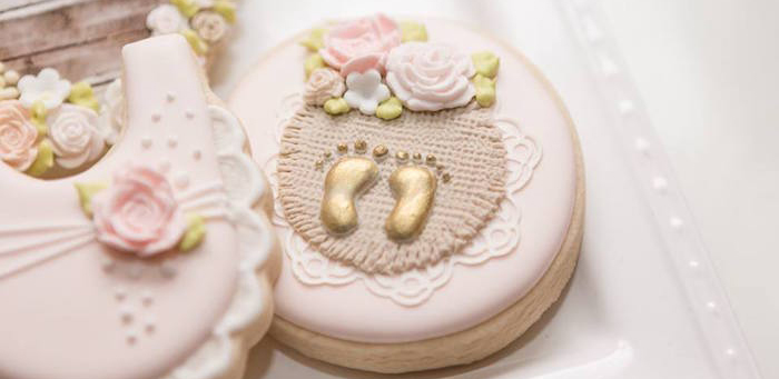 Blush Garden Baby Shower on Kara's Party Ideas | KarasPartyIdeas.com (1)