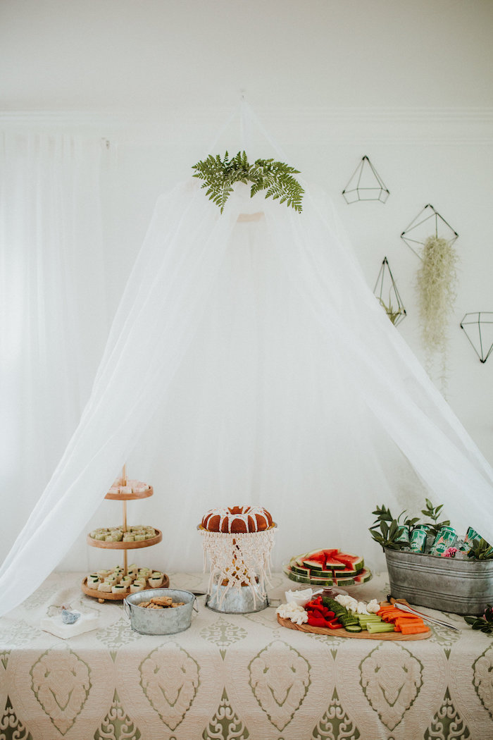 Boho 2nd Birthday Party on Kara's Party Ideas | KarasPartyIdeas.com (18)
