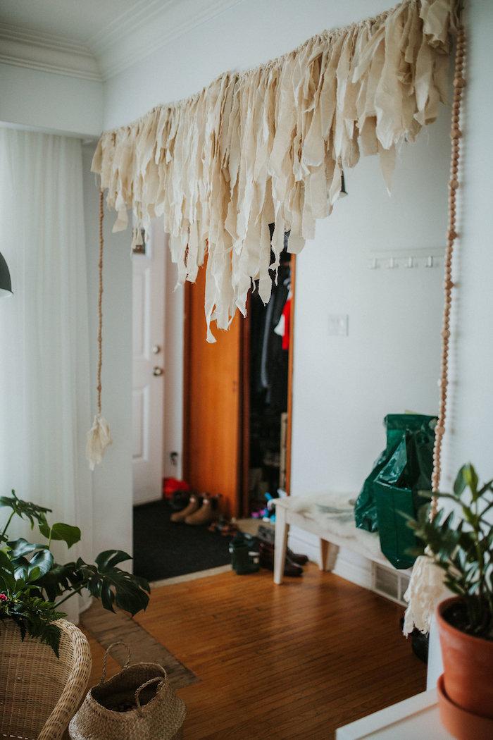 Tassel banner + garland from a Boho 2nd Birthday Party on Kara's Party Ideas | KarasPartyIdeas.com (14)