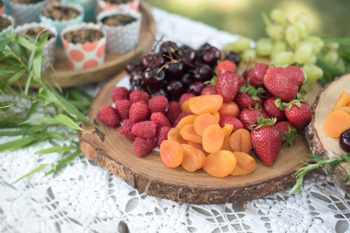 Fruit plate from a Boho Backyard Brunch Birthday Party on Kara's Party Ideas | KarasPartyIdeas.com (24)