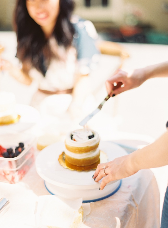Boho Cake Workshop Bridal Shower on Kara's Party Ideas   KarasPartyIdeas.com (19)