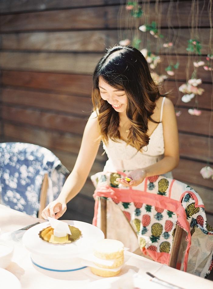 Boho Cake Workshop Bridal Shower on Kara's Party Ideas   KarasPartyIdeas.com (28)