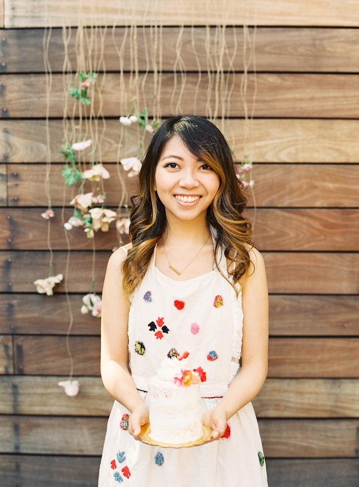 Boho Cake Workshop Bridal Shower on Kara's Party Ideas   KarasPartyIdeas.com (9)