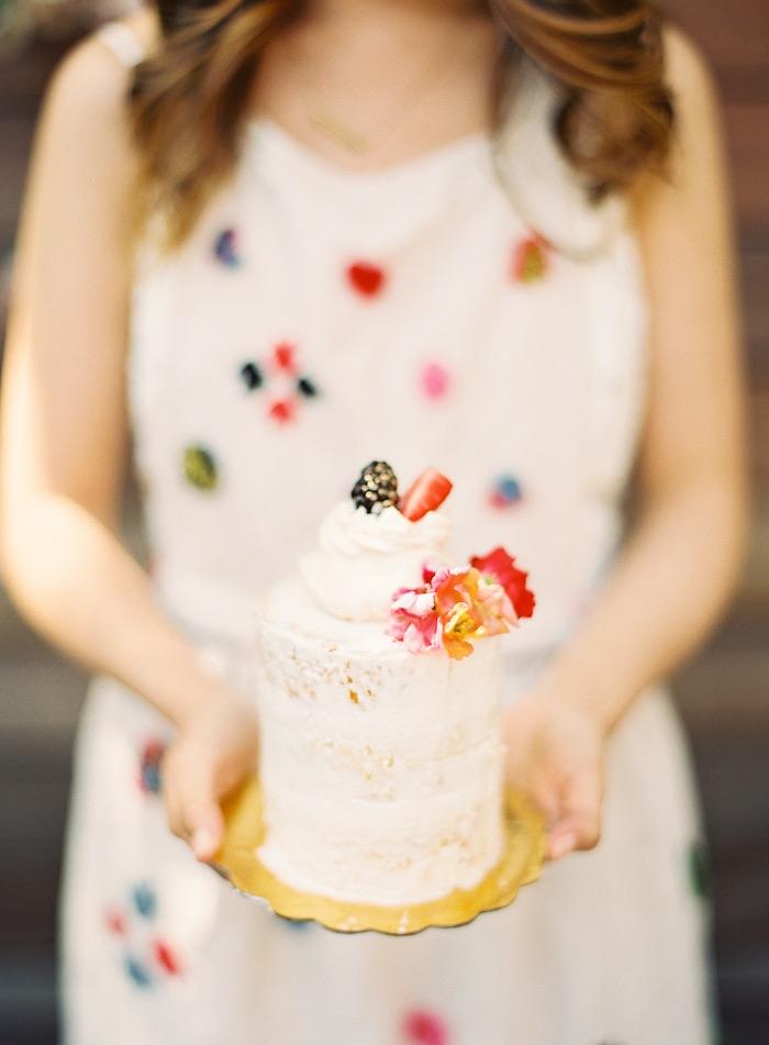 Boho Cake Workshop Bridal Shower on Kara's Party Ideas   KarasPartyIdeas.com (8)