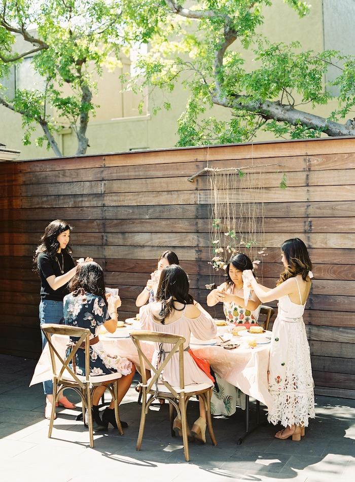 Boho Cake Workshop Bridal Shower on Kara's Party Ideas   KarasPartyIdeas.com (23)