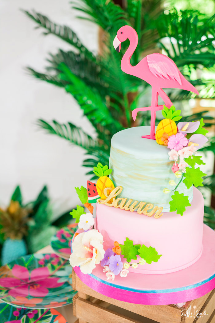 Kara S Party Ideas Chic Flamingo Birthday Party Kara S