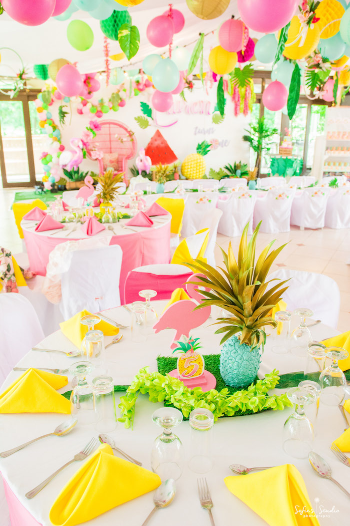 Kara S Party Ideas Chic Flamingo Birthday Party Kara S Party Ideas