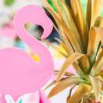 Chic Flamingo Birthday Party on Kara's Party Ideas | KarasPartyIdeas.com (2)
