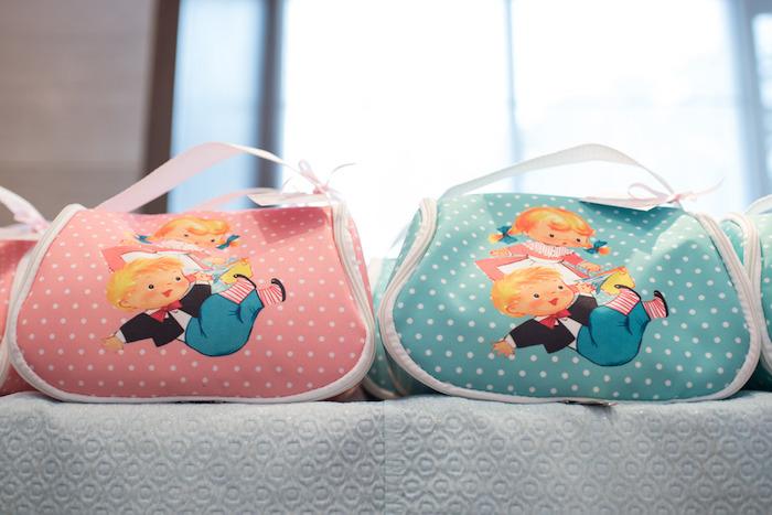 Favor bags from a Classic Nursery Rhyme Birthday Party on Kara's Party Ideas | KarasPartyIdeas.com (16)