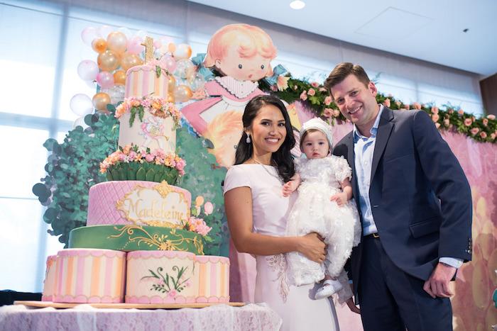 Cake from a Classic Nursery Rhyme Birthday Party on Kara's Party Ideas | KarasPartyIdeas.com (9)