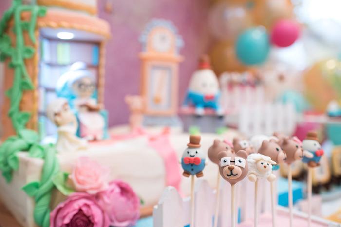 Kara S Party Ideas Clic Nursery Rhyme Birthday